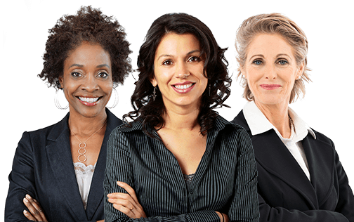 Three Professional Engineering Women